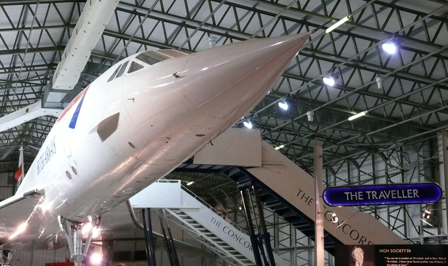 Concorde-Exhibit---National-Museum-of-Flight-1